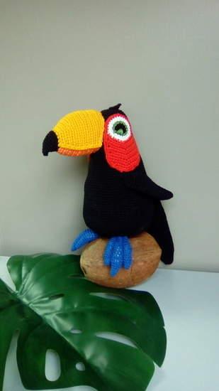 Makerist - S.A.M.a dit... un toucan ! - 1
