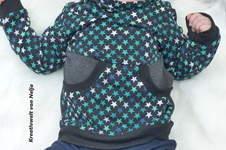 Makerist - Hoodie mit toller Tasche für Groß und Klein - 1