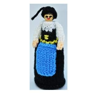 Makerist - Icelandic Costume Peg Doll - DK Wool - 1