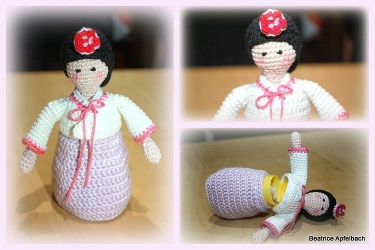 Makerist - Korean girl - Häkelprojekte - 1