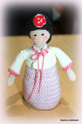 Makerist - Korean girl - Häkelprojekte - 2