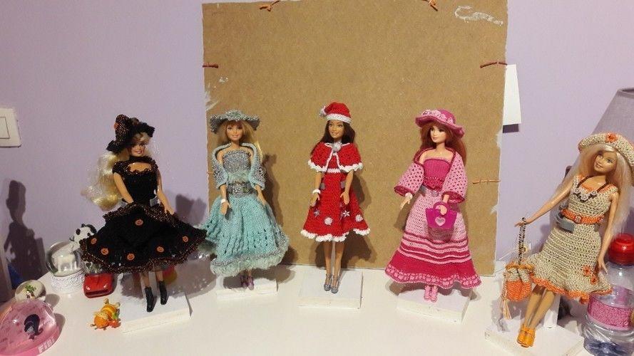Makerist - Tenues pour Barbie  - Créations de crochet - 1