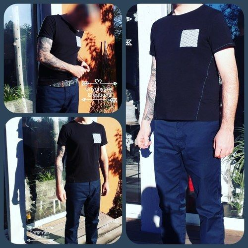 Makerist - Tee shirt homme tailleL - Créations de couture - 1