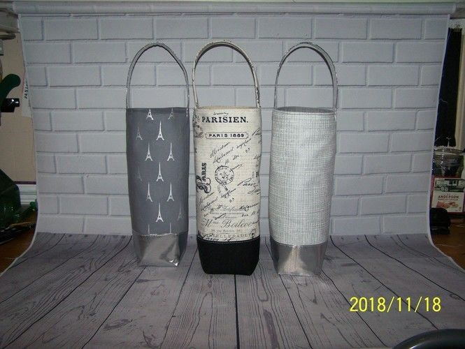 Makerist - Yo Tipsy Tote Wine Totes - Sewing Showcase - 1
