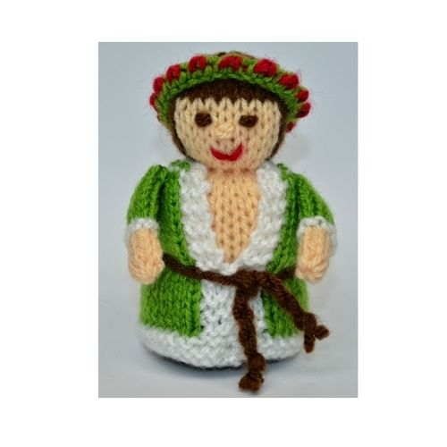 Makerist - Scrooge - Spirit of Christmas Present - DK Wool - Knitting Showcase - 1