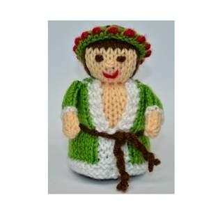 Makerist - Scrooge - Spirit of Christmas Present - DK Wool - 1