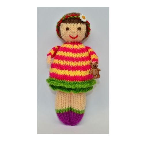 Makerist - Thomasina Rag Doll - DK Wool - Knitting Showcase - 1