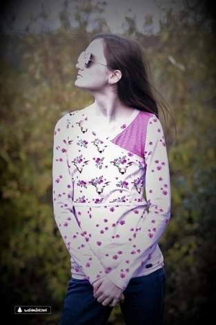 Makerist - Wicka Bolero/Shirt in Gr. 32 von Rosalieb&Wildblau - 1