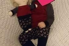 Makerist - J und seine Puppe im Partnerlook  - 1