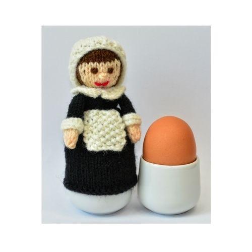 Makerist - Pilgrim Doll Egg Cosy - DK Wool - Knitting Showcase - 1