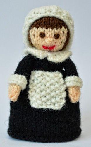 Makerist - Pilgrim Doll Egg Cosy - DK Wool - Knitting Showcase - 2