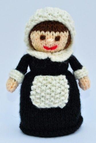 Makerist - Pilgrim Doll - DK Wool - Knitting Showcase - 2