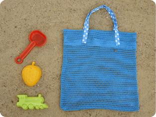 Makerist - RieselTäschi für Sandkasten Spielzeug - 1