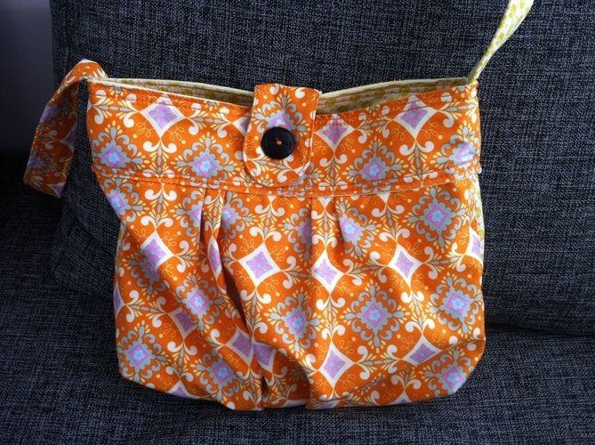 Makerist - Baby Wickel Tasche  für die Schwester meines Freundes  - Nähprojekte - 1