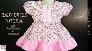 Makerist - Baby Dress Sewing Tutorial - 1
