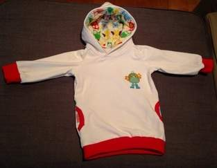Makerist - Ein Kapuzenpullover aus Sweatshirtstoff für meine kleine Maus - 1