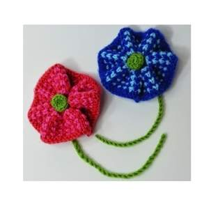 Makerist - Twisted Tweed Knit Flower Brooch - DK Wool - 1