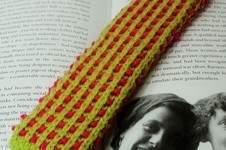 Makerist - Basket Rib Bookmark - DK Wool - 1