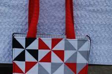 Makerist - Patchworktasche mit Windrädern - 1