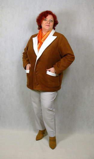 Makerist - Megan als Jacke aus kuscheligem Polarfleece.  - 1