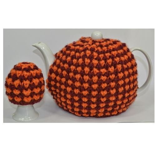 Makerist - Twisted Tweed Teapot Cosy & Egg Cosy - DK Wool - Knitting Showcase - 1