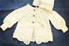 Makerist - Jacke und Mütze zur Taufe meiner Enkelin. - 1