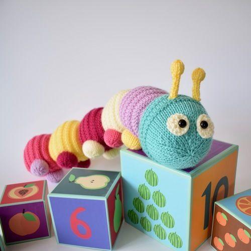 Makerist - Happy Caterpillar - Knitting Showcase - 2