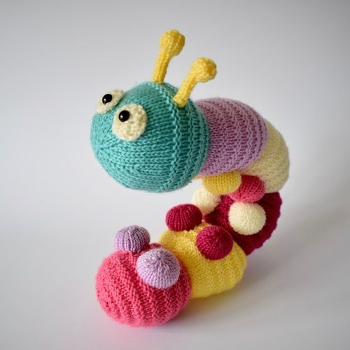 Makerist - Happy Caterpillar - Knitting Showcase - 3