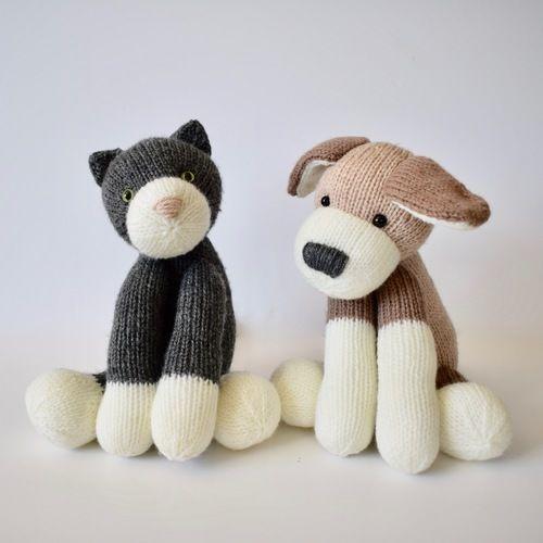 Makerist - Fido and Fifi - Knitting Showcase - 1