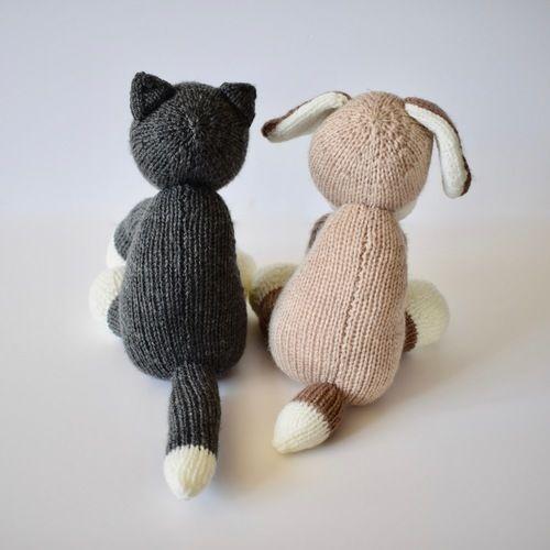 Makerist - Fido and Fifi - Knitting Showcase - 2