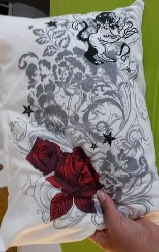 Makerist - Kissen mit Hotelverschluss aus einem T- Shirt - 1