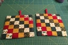 Makerist - Weihnachtstopflappen mit Quilters Grid - 1