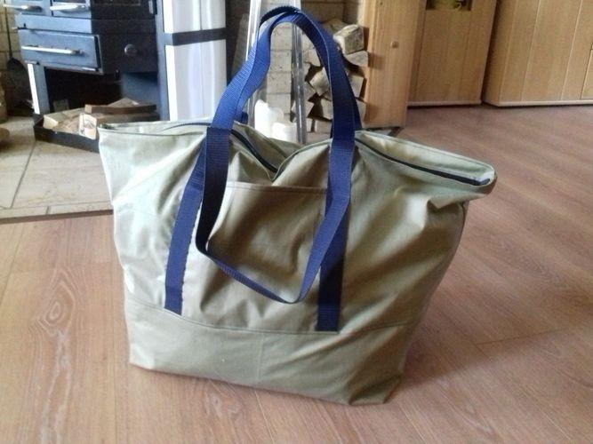Makerist - herrlich leichte Reisetasche  mit viel Platz - Nähprojekte - 1