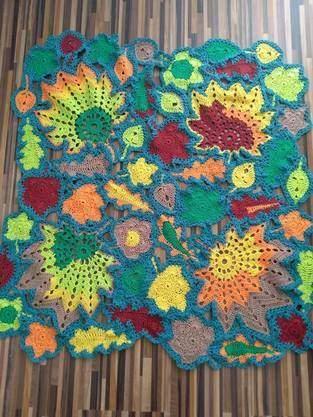 Makerist - Herbst Decke - 1