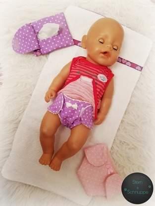 Makerist - Feuchtetüchertasche für die Puppenmama - 1