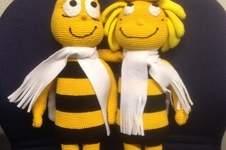 Makerist - Biene Maya und Willi für eine liebe Kollegin zum Geburtstag - 1
