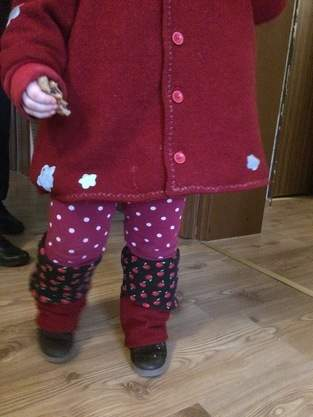 Makerist - Rotkäppchens Bein.Stulpen - 1