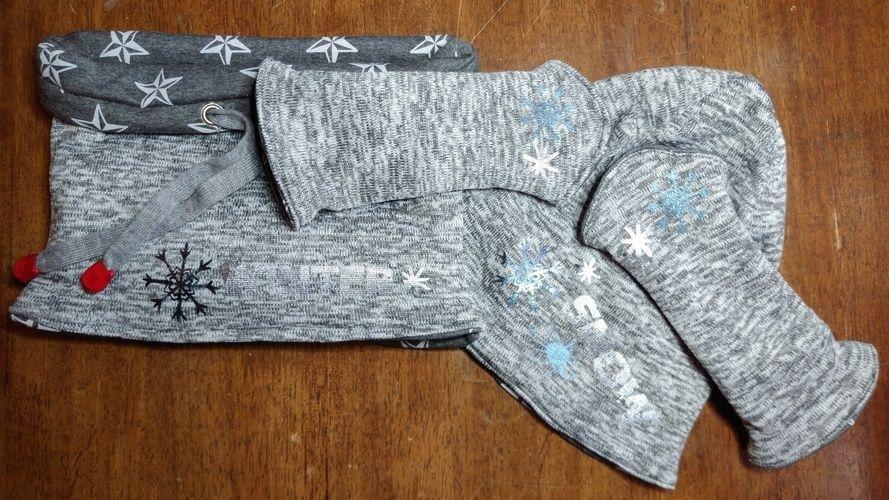 Makerist - Set aus Wendeloop, Wendebanieunf Wendestulpen für mich - Textilgestaltung - 1