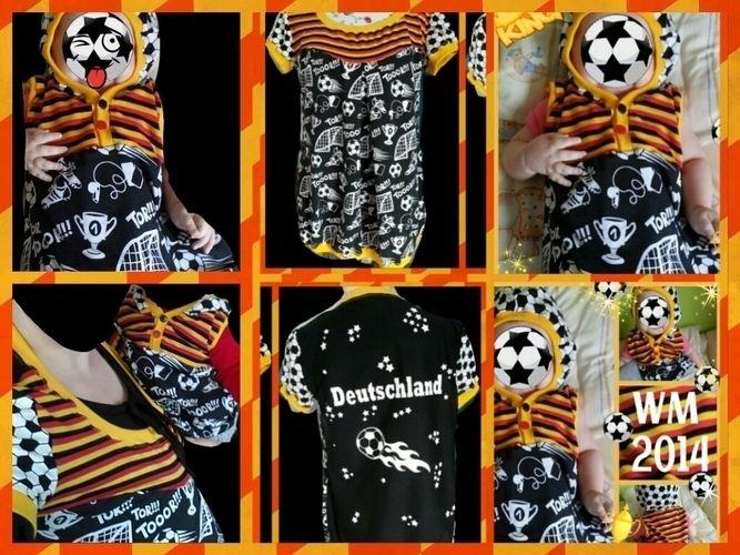 Makerist - WM shirt für Mutter und Tochter - Nähprojekte - 1