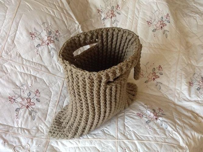 Makerist - Crocheted Tuxedo tote bag - Crochet Showcase - 1