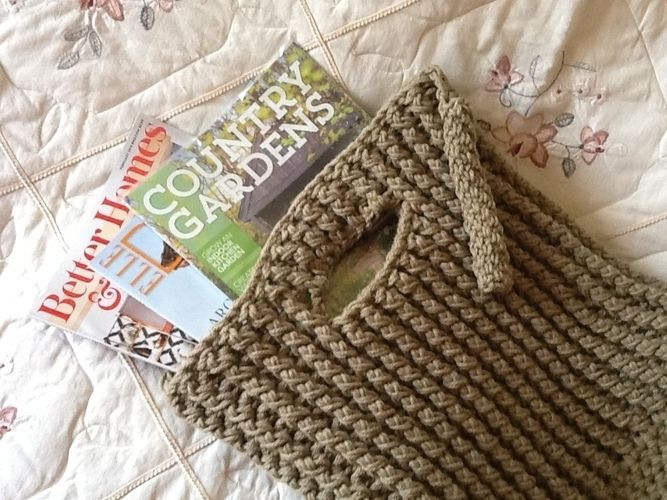 Makerist - Crocheted Tuxedo tote bag - Crochet Showcase - 2