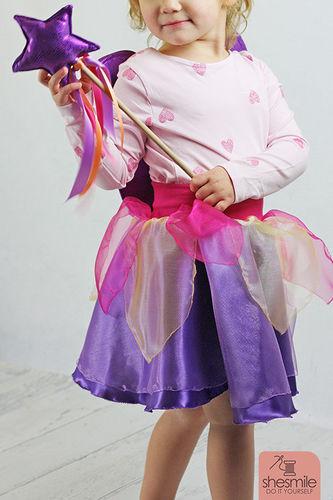 Makerist - Feen-Kostüm Annabelle für die Kleine - Nähprojekte - 2