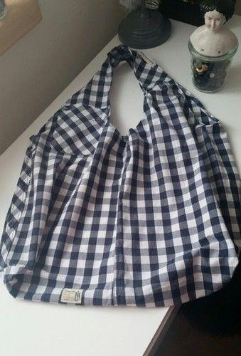 Makerist - Upcycling: Herrenhemd wird zu chicem Einkaufsbeutel - Nähprojekte - 1