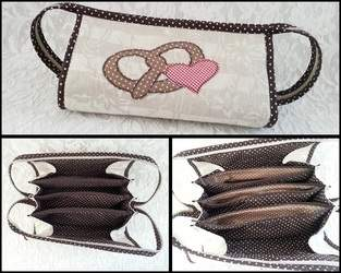 Makerist - Fächertasche 7 Innentaschen (Modell 2) - 1