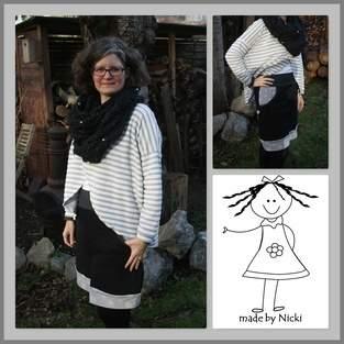 Makerist - Freebook Lady Sweat Skirt von Lin-Kim - 1