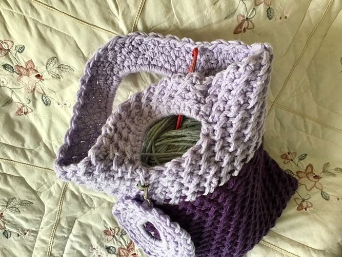 Makerist - Chantilly Tote bag - Crochet Showcase - 3