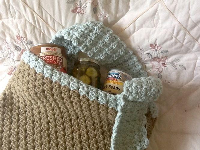 Makerist - Momma goes to market tote bag - Crochet Showcase - 1