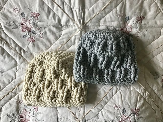 Makerist - Snow cap mountain hat  - Crochet Showcase - 2