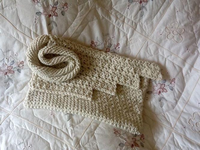 Makerist - Iceland Glacier inspired tote bag  - Crochet Showcase - 1