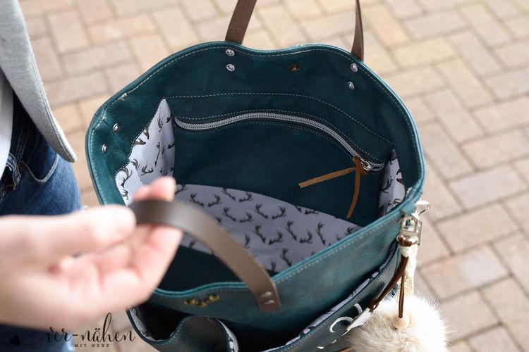 Makerist - Lia Bag von Unikati im Trachten Style - Nähprojekte - 3